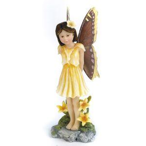 Wednesdays Child Butterfly Fairy Figurine