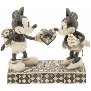 Disney Traditions Real Sweetheart (Mickey & Minnie Mouse) Figurine
