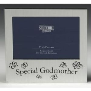 "Message Photo Frame 5"" x 3.5"" - Special Godmother"