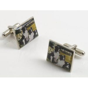 Border Fine Arts Studio Collection Cufflinks - Border Collies