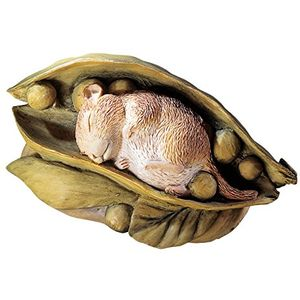 Beatrix Potter Timmy Willie in Pea Pod Figurine