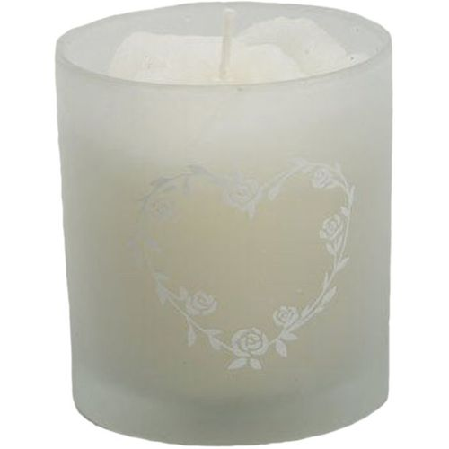 Scented Wedding Candle in glass holder