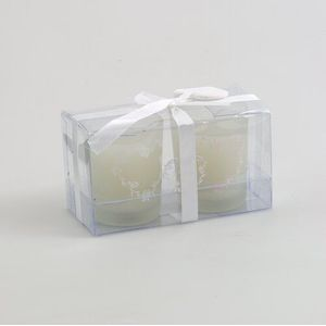 Scented Wedding Votive Candles Set of 2