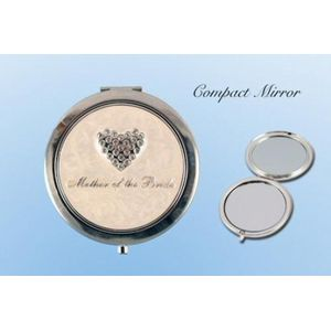 Wedding Party Keepsake Mirror Compact - Mother of the Bride