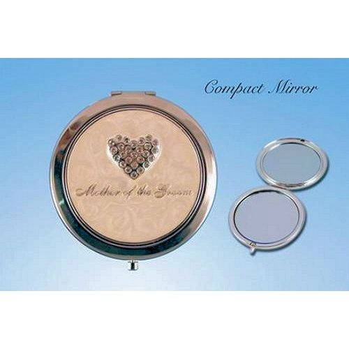 Wedding Gift Mother of Groom Compact Mirror