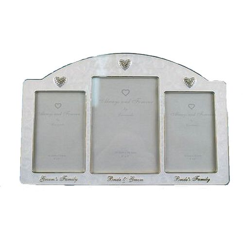 Always & Forever Wedding Party Photo Frame - Bride & Groom & Families