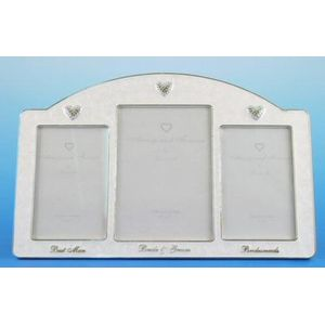 Always & Forever Wedding Multi Photo Frame