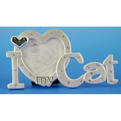 I Love My Cat Photo Frame Crusader Gifts