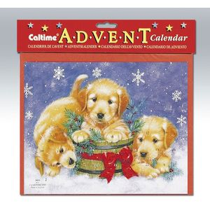 Advent Calendar - Festive Puppies
