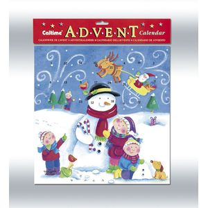 Advent Calendar - Snowman & Children