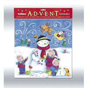 Snowman & Children Advent Calendar.