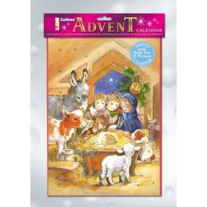 Advent Calendar - Nativity Scene
