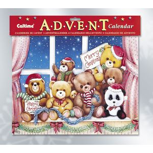Advent Calendar - Christmas Teddy Bears