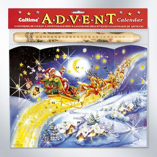 Star Trail Advent Calendar & Candle Set