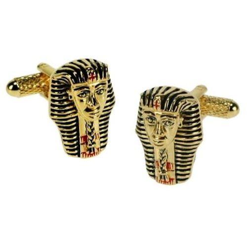 Pharaoh Head Egyptian Cufflinks