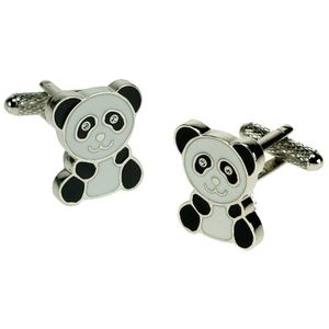 Black & White Panda Cufflinks
