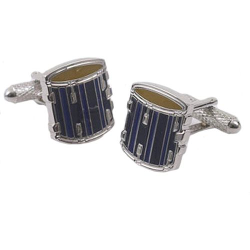 Cufflinks resembling a Snare Drum