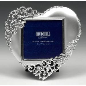 "Heart Shaped Photo Frame 3"" x 3"""