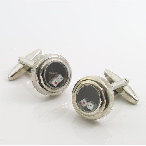 Pair Of Dice Designer Cufflinks Ref 470169