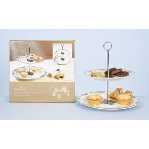 Christmas Tableware - 2 Tier Cake Stand