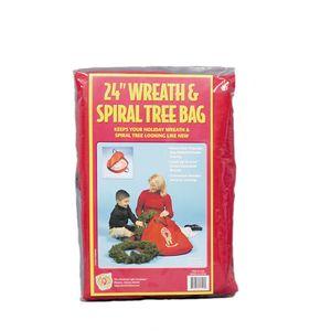 Christmas Wreath & Spiral Tree Storage Bag