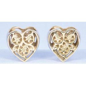 Napkin Rings - Gold Hearts Set of 2