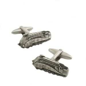 Mallard Train Cufflinks (Antique finish)
