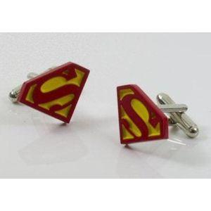Superman Logo Cufflinks