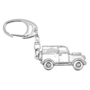 English Pewter Land Rover Keyring