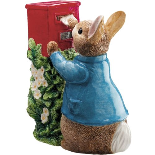 Beatrix Potter Peter Posting Letter Money Box A7170