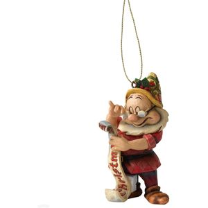 Disney Traditions Hanging Ornament - Snow White & Seven Dwarfs: Doc