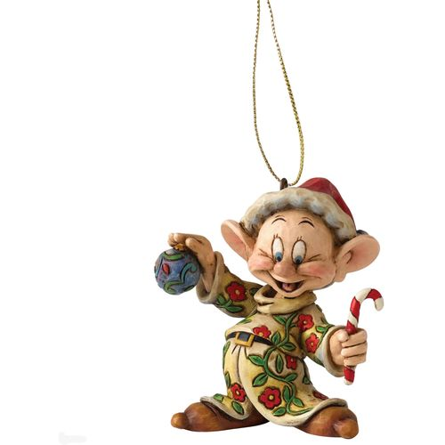 Disney Traditions Dopey Snow White Hanging Ornament A9041