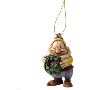 Disney Traditions Hanging Ornament - Snow White & Seven Dwarfs: Happy