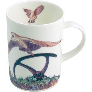 Border Fine Arts Studio Collection China Mug - Barn Owls