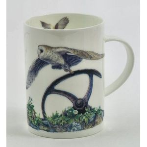 Border Fine Arts Studio Collection China Mug - Owl