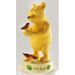 Winnie The Pooh New Baby Figurine