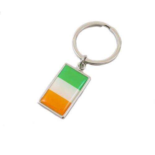 Irish Flag Key Ring