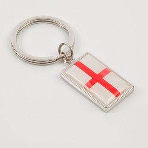 England St George Flag Keyring