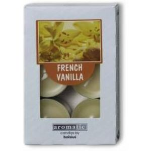 Aromatic Scented Tea Lights 6 Pack - French Vanilla