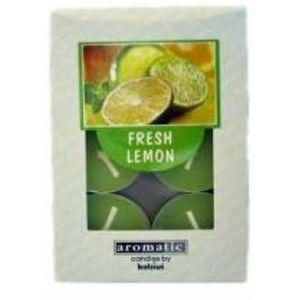 Aromatic Scented Tea Lights 6 Pack - Fresh Lemon