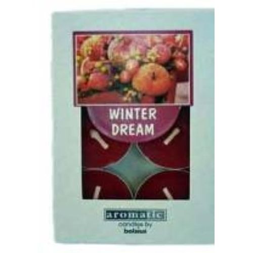Aromatic Scented Tea lights Winter Dream  pack of 6