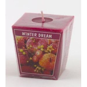 Aromatic Votive Cube Candle - Winter Dream