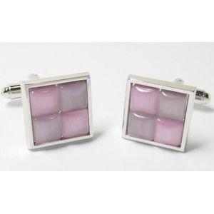 Two tone pink Cufflinks