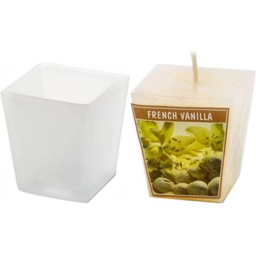 Aromatic French Vanilla Scented Votive Candle Set