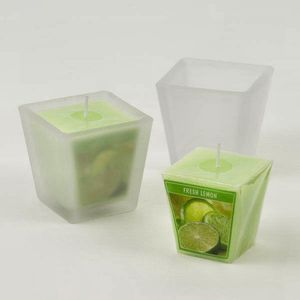 Aromatic Scented Candle Set - Fresh Lemon