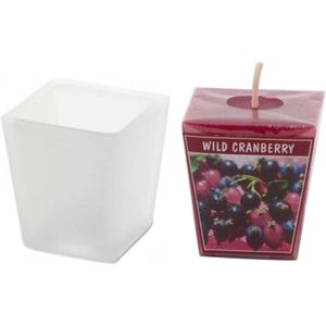 Aromatic Scented Candle Set - Wild Cranberry