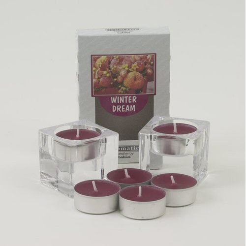 Aromatic Scented Tealights French Vanilla pack of 6