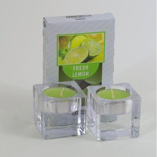 Aromatic Scented Tealights Fresh Lemon Gift Set