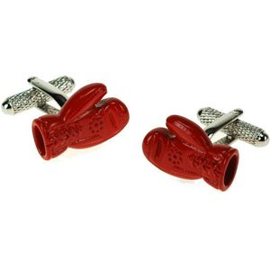 Red Boxing Glove Cufflinks
