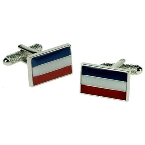 Dutch Flag novelty cufflinks